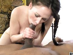 Sindee Jennings is wet as the ocean in this steamy interracial scene with lots of pussy pounding