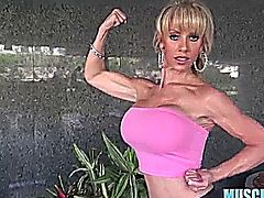 Meet Tara New Muscle Girl On The Block