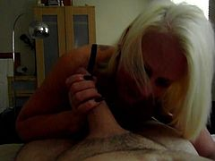 Sexy Carol Romford Sloppy BJ and Clean Up