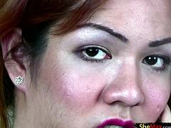 You can take your pick with Jhella as to whether you would like her to beat you off or up. We did not know how many rounds we could go with this hot red haired PI ladyboy who kept changing between...