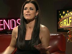Charming India Summer is a guest on this pornstar talk show