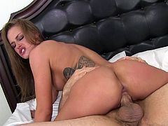 What April likes the most is giving guys some passionate cowgirl rides
