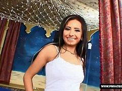 Czech Brunette Victoria Rose Visits Private's Casting Couch