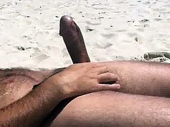 Flashing Teens at Clothed beach #1