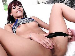 Gina Valentina takes dudes meat pole in her love hole