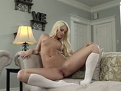 Visit official Playboy's HomepageAppealing nude model shows off quite steamy in a series of nude scenes, teasing with the perfect tits and curvy ass in more than superb solo scenes