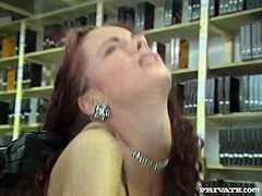 Andrea Assfucked in the voyeur's Private Room