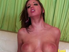Every babe who wants to become a pro at shaft pleasing should definitely watch this adorable babe. Cute Kelly Divine will give a hot deepthroat performance on a raging hard schlong and get penetrated hard.