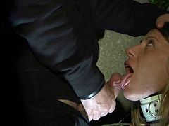 Allowed to scream like a slut slave is punished and fucked