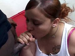 Cheeks Gets Pounded by a big black cock
