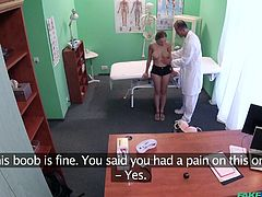 check-up in fake hospital