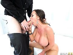 Danny D gets pleasure from fucking Brunette Nikki Benz in her hole