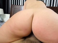 Visit official Paper Street Network's HomepageBig booty girl gives head in mind blowing modes before bending for cock in POV scenes, all until the end when she expects a big load on her fine ass