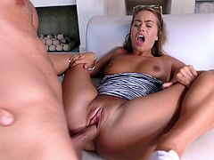 Visit official Paper Street Network's HomepageGorgeous blonde leaves muscular guy to push his big cock into her butt hole, provinding her with premium anal in outdoor as well as jizz to swallow in the end