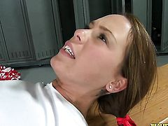 Brunette Haley Sweet is good on her way to make hard cocked dude Prince Yahshua explode on oral action before chocolate speedway fucking