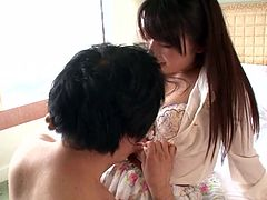 We bring you a video of gorgeous Japanese milf with great tits and amazing round ass. She is quite skilled when it comes to sucking dick and she absolutely loves to sit on a man's face. If you lick her pussy right and make her cum, she will make sure you never forget the pleasures of her body.