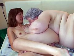 OldNanny Old Young Lesbian - Old Young Lesbian - old & young mature