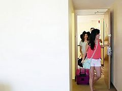 FamilyStrokes - Family Vacation Turns Into Sibling Fucking