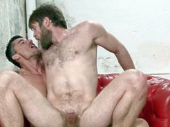 Colby Keller ordered Jay Roberts to lick asshole and the strong stud obliged those orders happily. Satisfied with his oral performance, Colby Keller decided to pleasure his gay partner by fucking tight asshole and both of them really enjoyed this gay session very much.