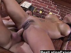 Alexis Amore fucked in her tight Latina asshole