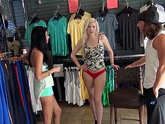 Here at Money Talks, we prove that phrase every show. So many women will say they wouldn't suck a stranger's dick in a store, but when you pull out enough cash, they seem to have a different opinion about that situation. Watch this blonde change her mind, right here at Money Talks!