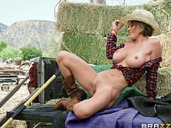 busty country girl is ass fucked