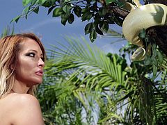in the garden of eden @ jessica drake is wicked