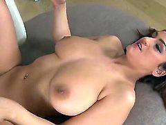 Choky Ice is a lucky man. He is going to get a titjob from hot and cute Sandra Milka who has enormous jambo tits, as well as a blowjob and pussy drilling.