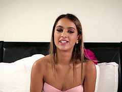 Fabulous babe Mindi Mink and her sex partner give an interview