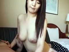 Cute Girl Gives Tekoki To the Guy In the Motel at Job