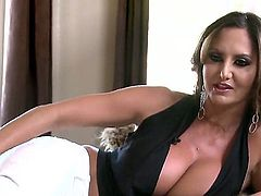 Hot bodied pornstars with big tits and shapely asses Ava Addams, Phoenix Marie, Romi Rain, and Tory Lane give interview and bare their assets in behind the scenes.  Another nice brazzers video!