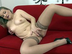 mature hairy Elisha - Valerie Voss solo