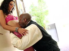 Huge black tool is all stunning babe Lou Charmelle wants to feel