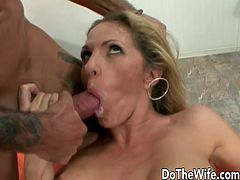 Swinger couple takes a stud to their house from the park She sucks his dick He licks and finger her pussy And then fucks deep and hard He cums in her mouth