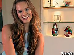 Gorgeous and giggly Jillian Janson is all natural from head to toe. Her perky tits and round, firm ass grab the attention of Daniel Hunter.