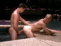 """According to the story, when Chuck Holmes first saw Chase's massive cock, toned body and movie-star good-looks, he stopped a staff meeting and began singing """"We're in the money!"""" because he knew he had a star. (This was in the days, of course, when people actually made money in porn.) Can you blame him? He's got a lot of what it takes to get along."""