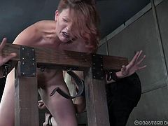 Here, at Real Time Bondage our members contribute ideas in real time via live chat and also through the forums, and today, they want to see how Kel Bowie will be punished and fucked. Well, we can not disappoint our viewers... Join and enjoy!