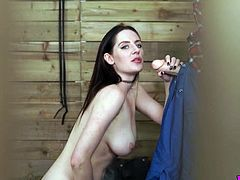 Spy video featuring sexually charged bitch Samantha Bentley