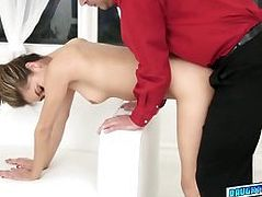 Luscious chick Audrey Royal loves to fuck hard cock