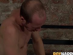 Corey Conor is bound and fucked and cummed on by Sean Taylor