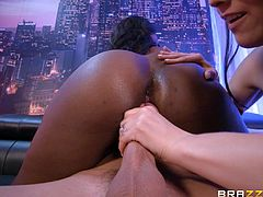 Nickey Huntsman and Osa Lovely want to feel a hot guy's boner