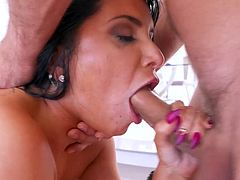Romi Rain loves getting double penetrated