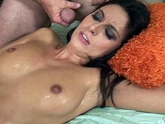 Erected cocks are all nasty brunette Nikki Daniels craves