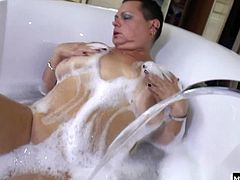 Thats just what happened to Char, and her mommy did it by inviting her into the bathroom to help her get out of the bath. Once in the bed, Chars mom asked her to rub her pussy, and one thing led to another.