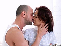 Teeny Lovers - Michelle Can - Teeny enjoys sex and cumspray