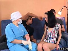 Guy assists with hymen physical and riding of virgin kitten0