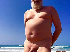 A year in the life of a naked man