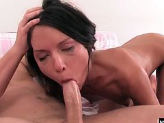 Nataly really loves it hard from behind, but her absolute favorite part of fucking a big dick comes after he pops it out of her ass. She loves that tangy taste of her ass juices sliding down her throat when she gets face fucked, working for a mouthful of tasty jizz.