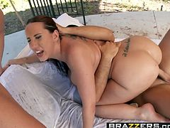 Brazzers - Shes Gonna Squirt - Wet By The Pool scene starrin