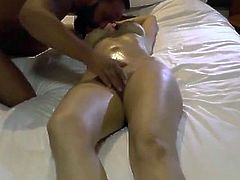 Shared Indian Punjabi wife massage and sex with strange